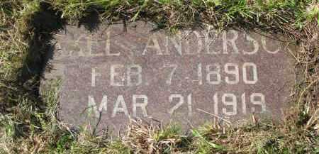 ANDERSON, AXEL - Clay County, South Dakota | AXEL ANDERSON - South Dakota Gravestone Photos