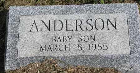ANDERSON, BABY SON - Clay County, South Dakota | BABY SON ANDERSON - South Dakota Gravestone Photos