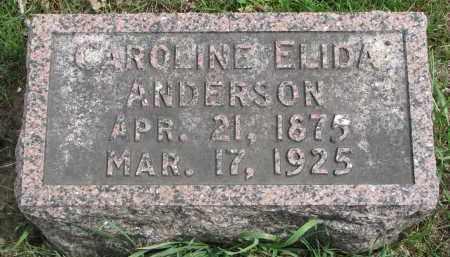 ANDERSON, CAROLINE ELIDA - Clay County, South Dakota | CAROLINE ELIDA ANDERSON - South Dakota Gravestone Photos