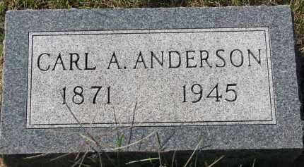 ANDERSON, CARL A. - Clay County, South Dakota | CARL A. ANDERSON - South Dakota Gravestone Photos