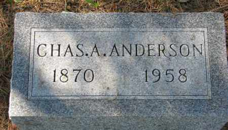ANDERSON, CHAS A. - Clay County, South Dakota | CHAS A. ANDERSON - South Dakota Gravestone Photos