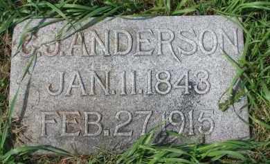 ANDERSON, C.J. - Clay County, South Dakota | C.J. ANDERSON - South Dakota Gravestone Photos