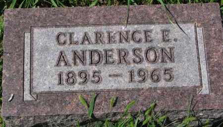 ANDERSON, CLARENCE E. - Clay County, South Dakota | CLARENCE E. ANDERSON - South Dakota Gravestone Photos