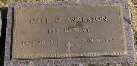 ANDERSON, CARL O. - Clay County, South Dakota | CARL O. ANDERSON - South Dakota Gravestone Photos