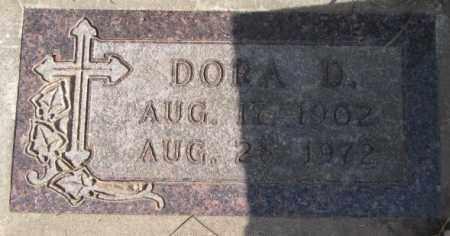 ANDERSON, DORA D. - Clay County, South Dakota | DORA D. ANDERSON - South Dakota Gravestone Photos