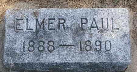 ANDERSON, ELMER PAUL - Clay County, South Dakota | ELMER PAUL ANDERSON - South Dakota Gravestone Photos