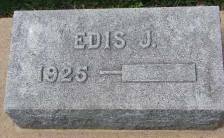 ANDERSON, EDIS J. - Clay County, South Dakota | EDIS J. ANDERSON - South Dakota Gravestone Photos