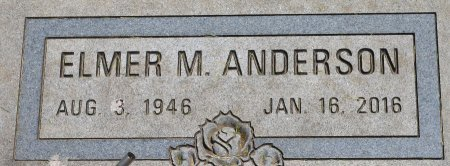 ANDERSON, ELMER M. - Clay County, South Dakota | ELMER M. ANDERSON - South Dakota Gravestone Photos