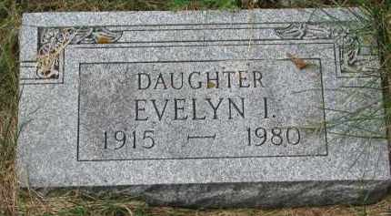 ANDERSON, EVELYN I. - Clay County, South Dakota | EVELYN I. ANDERSON - South Dakota Gravestone Photos