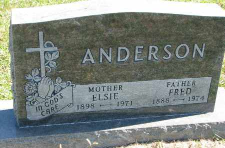 ANDERSON, FRED - Clay County, South Dakota | FRED ANDERSON - South Dakota Gravestone Photos