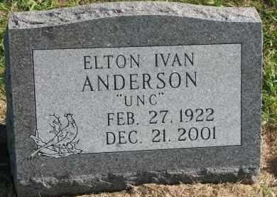 ANDERSON, ELTON IVAN - Clay County, South Dakota | ELTON IVAN ANDERSON - South Dakota Gravestone Photos