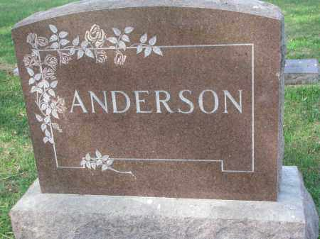 ANDERSON, FAMILY STONE - Clay County, South Dakota | FAMILY STONE ANDERSON - South Dakota Gravestone Photos