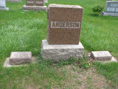 ANDERSON, FAMILY PLOT - Clay County, South Dakota   FAMILY PLOT ANDERSON - South Dakota Gravestone Photos