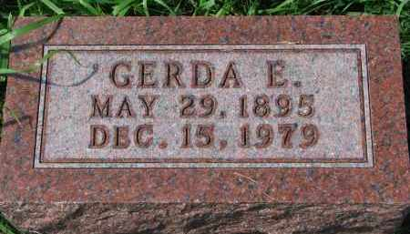 ANDERSON, GERDA E. - Clay County, South Dakota | GERDA E. ANDERSON - South Dakota Gravestone Photos