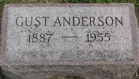 ANDERSON, GUST - Clay County, South Dakota   GUST ANDERSON - South Dakota Gravestone Photos