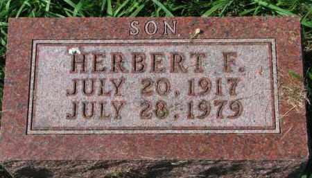 ANDERSON, HERBERT F. - Clay County, South Dakota | HERBERT F. ANDERSON - South Dakota Gravestone Photos