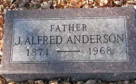 ANDERSON, J. ALFRED - Clay County, South Dakota | J. ALFRED ANDERSON - South Dakota Gravestone Photos