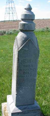 ANDERSON, JONAH E. - Clay County, South Dakota   JONAH E. ANDERSON - South Dakota Gravestone Photos