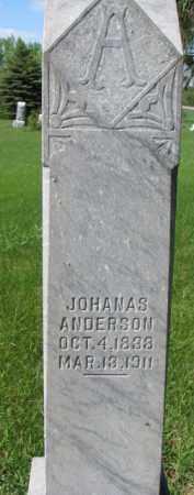 ANDERSON, JOHANAS - Clay County, South Dakota | JOHANAS ANDERSON - South Dakota Gravestone Photos