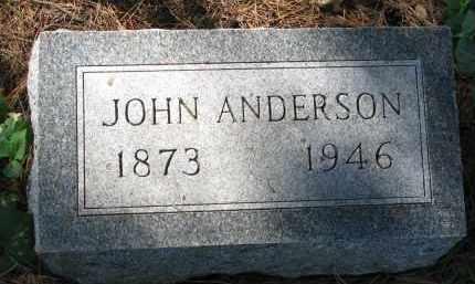 ANDERSON, JOHN - Clay County, South Dakota   JOHN ANDERSON - South Dakota Gravestone Photos