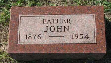 ANDERSON, JOHN - Clay County, South Dakota | JOHN ANDERSON - South Dakota Gravestone Photos