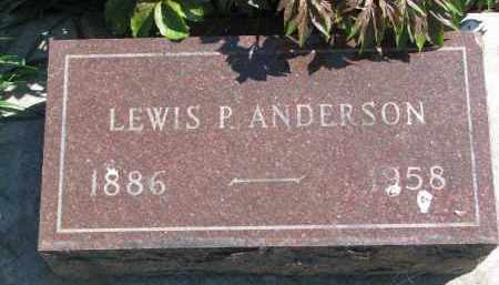 ANDERSON, LEWIS P. - Clay County, South Dakota | LEWIS P. ANDERSON - South Dakota Gravestone Photos