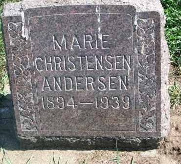 ANDERSON, MARIE - Clay County, South Dakota   MARIE ANDERSON - South Dakota Gravestone Photos