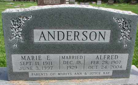 ANDERSON, ALFRED - Clay County, South Dakota | ALFRED ANDERSON - South Dakota Gravestone Photos