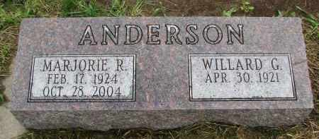 ANDERSON, MARJORIE R. - Clay County, South Dakota | MARJORIE R. ANDERSON - South Dakota Gravestone Photos