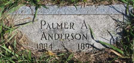 ANDERSON, PALMER A. - Clay County, South Dakota | PALMER A. ANDERSON - South Dakota Gravestone Photos