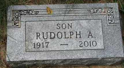 ANDERSON, RUDOLPH A. - Clay County, South Dakota | RUDOLPH A. ANDERSON - South Dakota Gravestone Photos