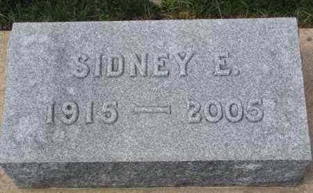 ANDERSON, SIDNEY E. - Clay County, South Dakota | SIDNEY E. ANDERSON - South Dakota Gravestone Photos