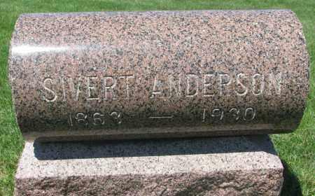 ANDERSON, SIVERT - Clay County, South Dakota | SIVERT ANDERSON - South Dakota Gravestone Photos