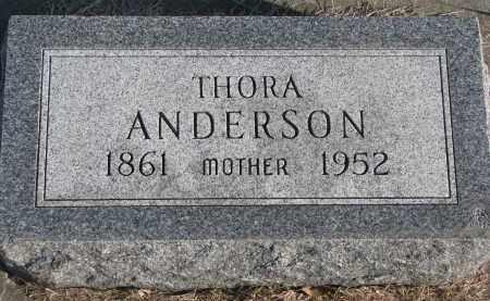 ANDERSON, THORA - Clay County, South Dakota | THORA ANDERSON - South Dakota Gravestone Photos