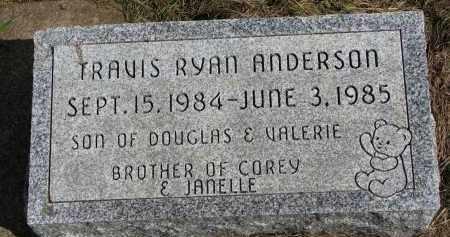 ANDERSON, TRAVIS RYAN - Clay County, South Dakota | TRAVIS RYAN ANDERSON - South Dakota Gravestone Photos