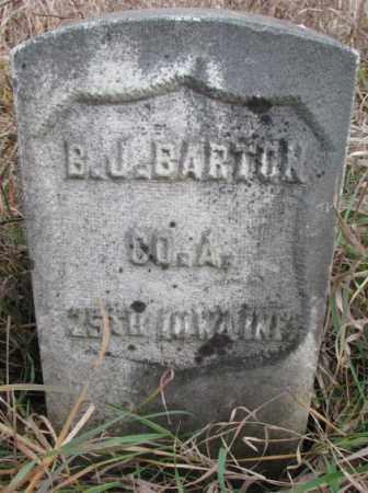 BARTON, B.J. - Clay County, South Dakota   B.J. BARTON - South Dakota Gravestone Photos