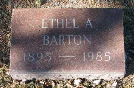 BARTON, ETHEL A. - Clay County, South Dakota | ETHEL A. BARTON - South Dakota Gravestone Photos