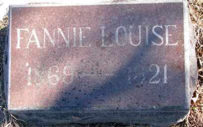 BARTON, FANNIE LOUISE - Clay County, South Dakota   FANNIE LOUISE BARTON - South Dakota Gravestone Photos
