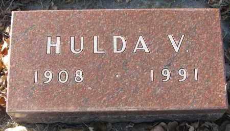 BARTON, HULDA V. - Clay County, South Dakota   HULDA V. BARTON - South Dakota Gravestone Photos