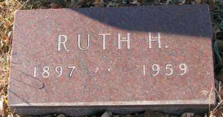 BARTON, RUTH H. - Clay County, South Dakota   RUTH H. BARTON - South Dakota Gravestone Photos