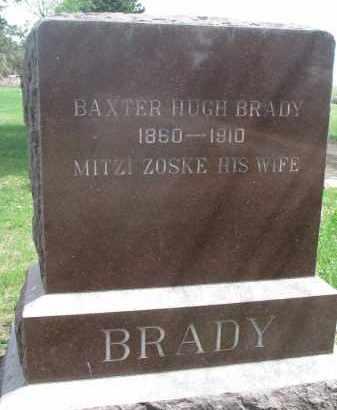 ZOSKE BRADY, MITZI - Clay County, South Dakota | MITZI ZOSKE BRADY - South Dakota Gravestone Photos