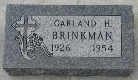 BRINKMAN, GARLAND H. - Clay County, South Dakota | GARLAND H. BRINKMAN - South Dakota Gravestone Photos