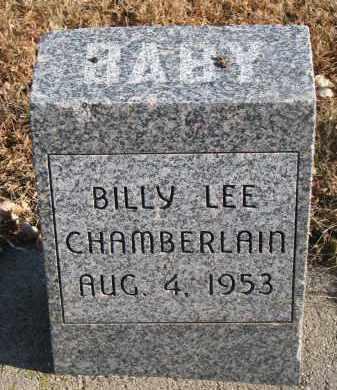 CHAMBERLAIN, BILLY LEE - Clay County, South Dakota | BILLY LEE CHAMBERLAIN - South Dakota Gravestone Photos