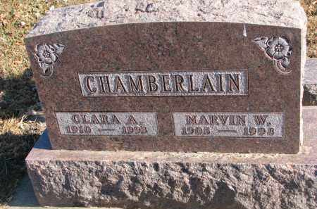 CHAMBERLAIN, CLARA A. - Clay County, South Dakota | CLARA A. CHAMBERLAIN - South Dakota Gravestone Photos