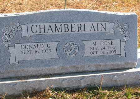 CHAMBERLAIN, M. IRENE - Clay County, South Dakota | M. IRENE CHAMBERLAIN - South Dakota Gravestone Photos