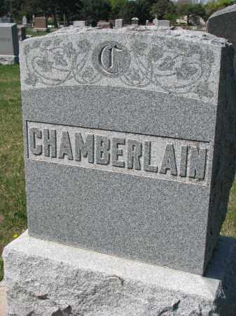 CHAMBERLAIN, FAMILY STONE - Clay County, South Dakota | FAMILY STONE CHAMBERLAIN - South Dakota Gravestone Photos