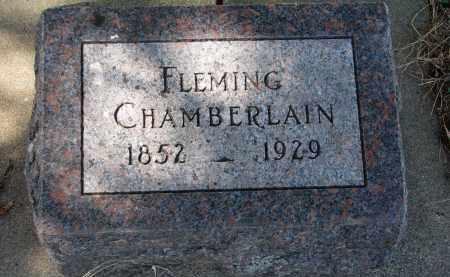 CHAMBERLAIN, FLEMING - Clay County, South Dakota | FLEMING CHAMBERLAIN - South Dakota Gravestone Photos