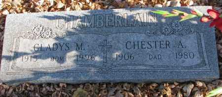 CHAMBERLAIN, GLADYS M. - Clay County, South Dakota | GLADYS M. CHAMBERLAIN - South Dakota Gravestone Photos