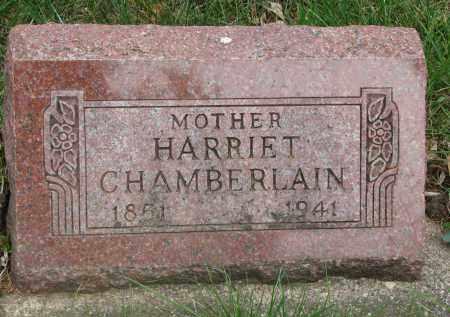 CHAMBERLAIN, HARRIET - Clay County, South Dakota   HARRIET CHAMBERLAIN - South Dakota Gravestone Photos