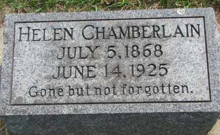 CHAMBERLAIN, HELEN - Clay County, South Dakota | HELEN CHAMBERLAIN - South Dakota Gravestone Photos